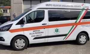 Ambulanza vergante nuovomezzo