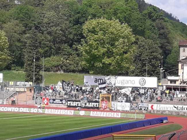 Lugano calcio curva