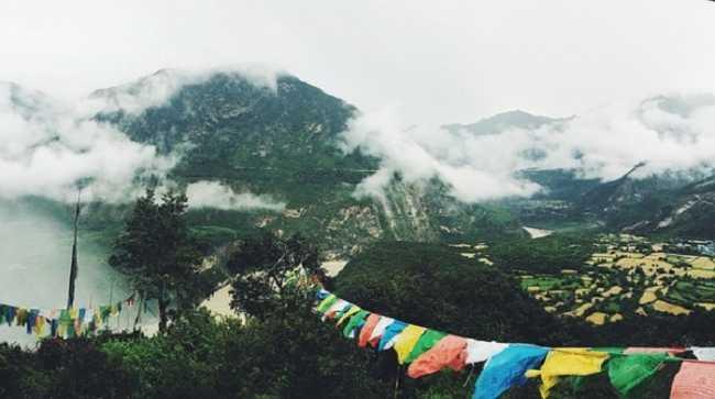 Vento montagna