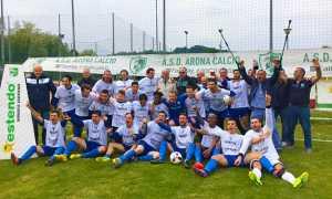 Arona Calcio campione