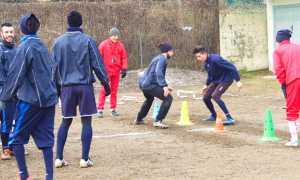 Arona calcio allenamento