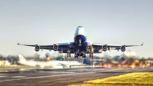 aereo decollo