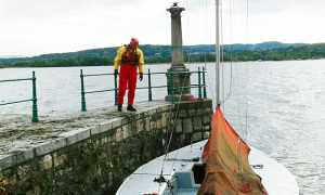 barca lago vigili recupero
