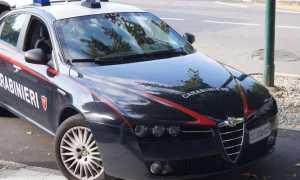carabinieri auto fronte