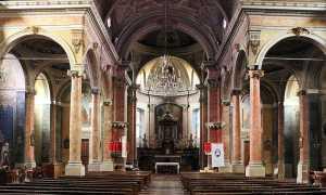 castelletto ticino chiesa interno