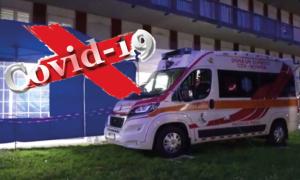 covid ambulanza tenda blu