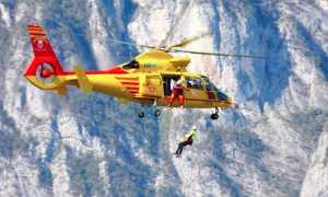 elicottero 118 recupero neve 1