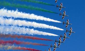 frecce tricolori formazione
