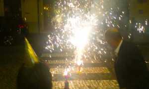 fuochi domo striscie artificio