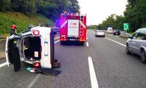 incidente autostrada a 26 fianco set 17