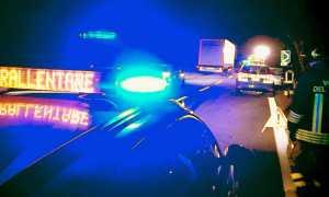 incidente polizia superstrada