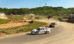 maggiora autocross Carmellino Giarolo in gara