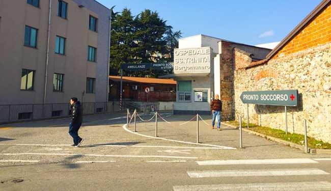 ospedale borgomanero entrata