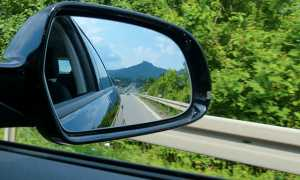 specchietto auto