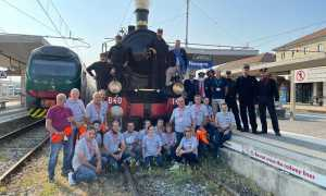 treno storico novara