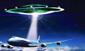 ufo e aereo b