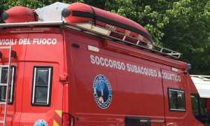 vigili fuoco sommozzatori