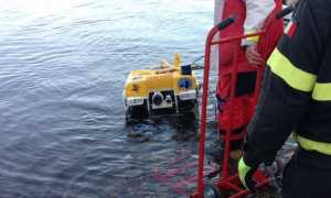 vvff robot subacqueo