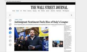wall stret journal alberto gusmeroli